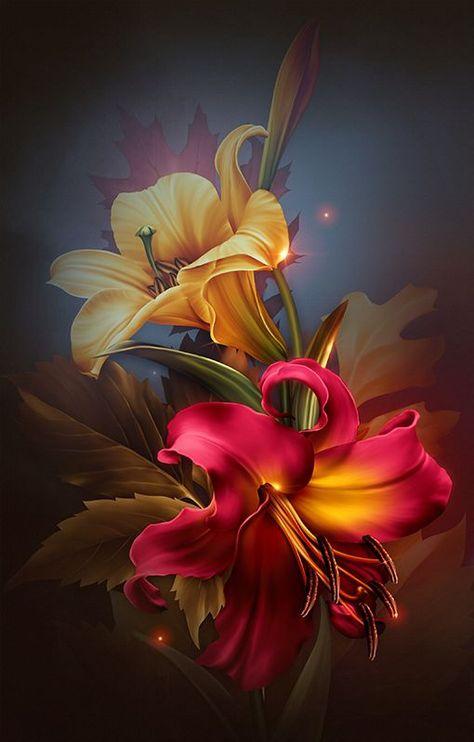 ╰⊰✿GS✿⊱╮  #flores #GS