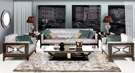 Sofa And Armchair St Tropez Collection