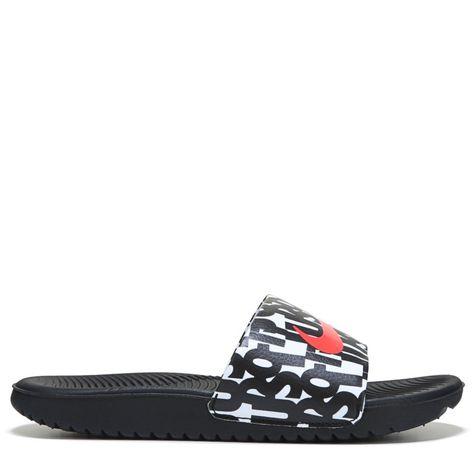 016c977657b7 Nike Kids  Kawa Slide Sandal Pre Grade School Sandals (Just Do It ...