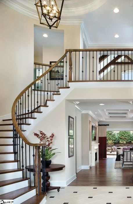 205 Chamblee Blvd Greenville Sc 29615 Foyer Design Staircase