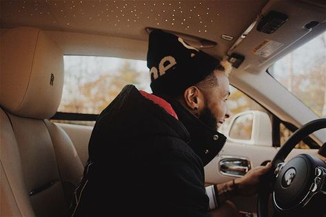 """""""Trapping out the wraith in the winter..."""" - Odell Beckham Jr"""