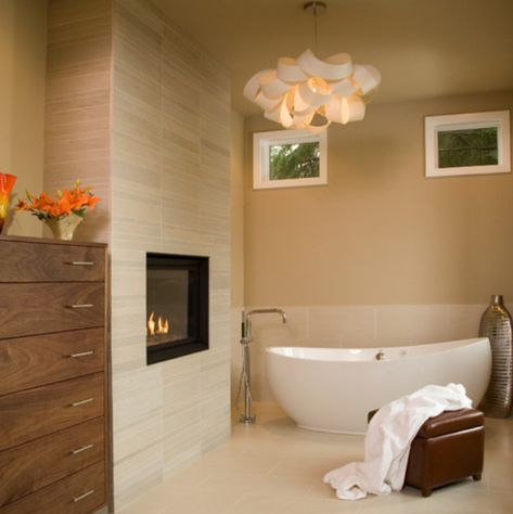 Electric Fireplace : Recessed 40
