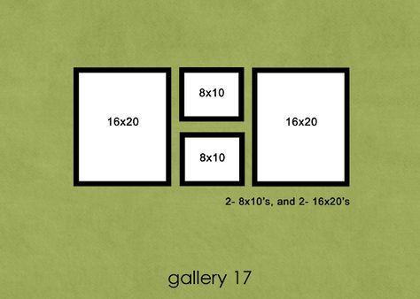 37 Photo Wall Groupings, so many ideas, so little space