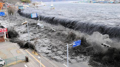 Fukushima 6yrs On Devastating Power Of Japanese Tsunami Caught On
