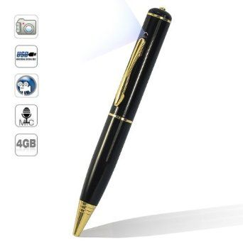 Dealinthebox Mini Pin-hole Spy Camera Cam Pen Hidden Video Camera Recorder DV DVR w/ 4GB card --- http://www.amazon.com/Dealinthebox-Pin-hole-Camera-Hidden-Recorder/dp/B00BMQLDHU/?tag=thebost0e-20