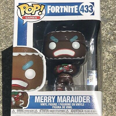 Games Fortnite MERRY MARAUDER 433 Vinyl Figure Funko POP
