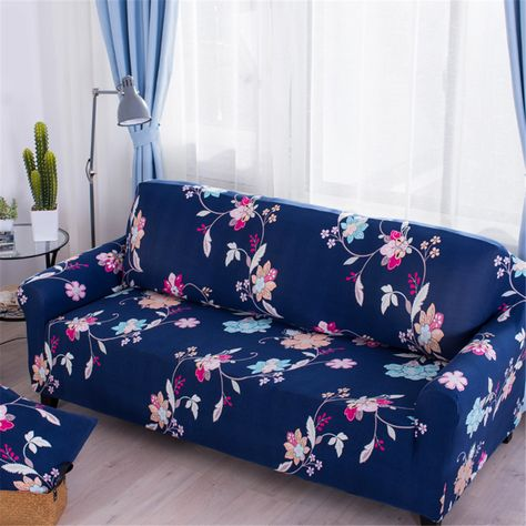 Fabulous Floral Print Spandex Fabric Stretch Sofa Slipcover Couch Uwap Interior Chair Design Uwaporg