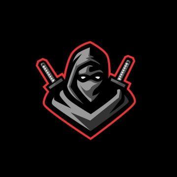 Ninja Clipart Logo Icons Ninja Icons Vector Illustration Mascot Icon Gaming Symbol Design Graphic Ninja Game Te Sports Logo Design Logo Design Free Vector Logo