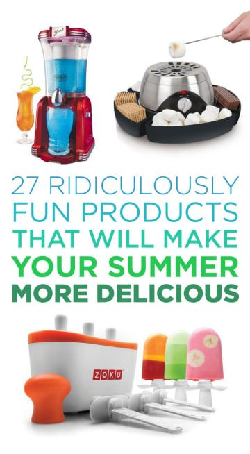 27 Ridiculously Fun Products That Will Make Your Summer More Delicious Cool Inventions Cool Stuff Cool Gadgets