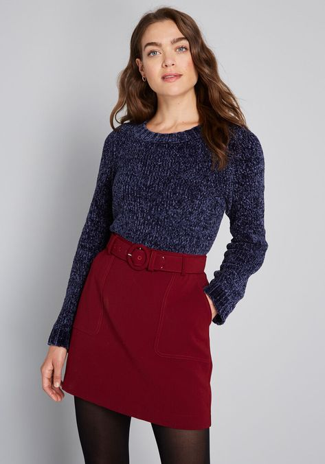On and Soft Again Chenille Sweater, #ModCloth