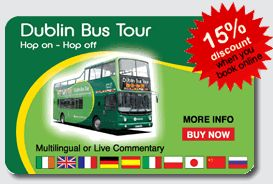 Dublin Bus Tour - This was the best thing in Dublin! We went everywhere and never had to drive.