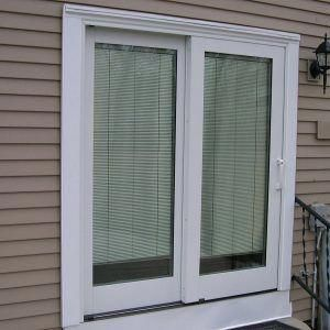 Anderson Sliding Patio Doors With Blinds Between Glass Andersen Sliding Doors Sliding Patio Doors Exterior Patio Doors