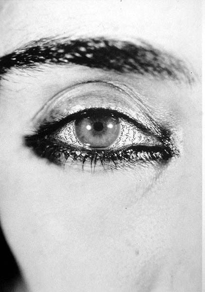 Neshat Shirin, Offered Eyes, 1993