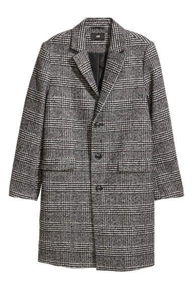 exklusiva erbjudanden fri leverans hela samlingen Rock i ullmix | clothing | Mens wool coats, Coat dress, Wool coat