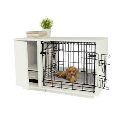 Fido Nook 2 In 1 Luxury Dog Bed And Crate Dog Crate Cover Dog Furniture Dog Crate Furniture