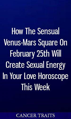 How The Sensual Venus-Mars Square On February 25th Will Create