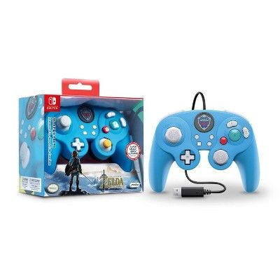 Nintendo Legend Of Zelda Link Wired Gamecube Fight Pad Pro Controller For Nintendo Switch Blue Gamecube Nintendo Switch Control