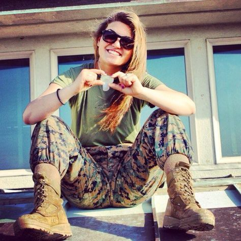 USMC, Female Marine, Ooh Rah!!!
