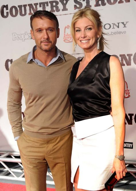 Tim McGraw and Faith Hill--one of the cutest country music couples = )