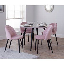 Buy Argos Home Sienna Marble Effect 4 Seater Dining Table Dining Tables Argos Dining Table Marble Marble Tables Design 4 Seater Dining Table