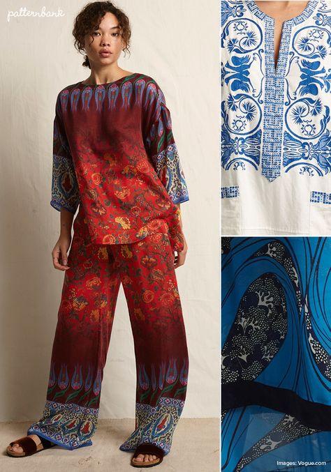 Warm - Spring/Summer 2018 – RTW – New York Fashion Week – Print & Pattern Highlight | Patternbank