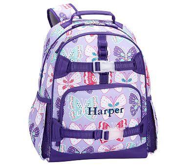 0367ab3e0724 Mackenzie Lavender Purple Preppy Butterflies Backpack
