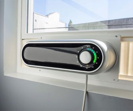 This Modernized Window Ac Unit Attaches Directly To Your Window