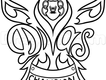 Belt Champion Coloring Pages Wwe 2020
