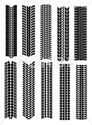 Tire Shapes Stock Illustration Ad Shapes Tire Illustration Stock Vector Graphics Design Design Graphic