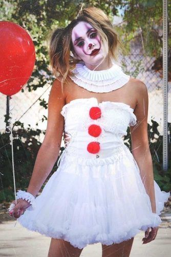 Halloween Looks For 2020 39 Fun Halloween Costume Ideas 2020 in 2020 | Clown halloween