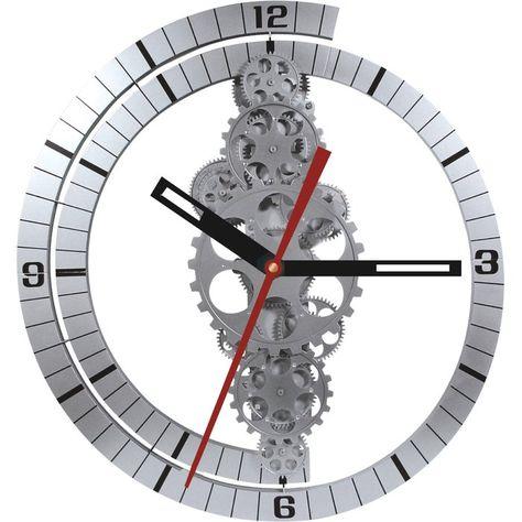 Oversized Bjoern 24 Moving Gear Wall Clock Gear Wall Clock Oversized Wall Clock Round Wall Clocks