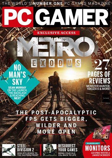 Free Download PC Gamer UK October 2018 Ebook | Latest Free