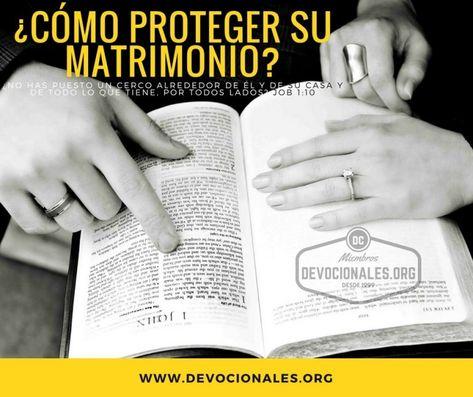 Matrimonio Segun Biblia : Cómo proteger y cuidar su matrimonio según la biblia? matrimonio