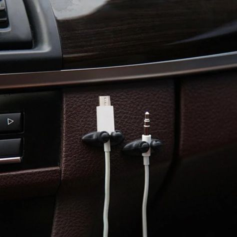 Interior Accessories Low Promotions Good Quality Car Adhesive Headphone USB Charger Line Auto Multi-Purpose Fastener Clip Car Accessories - (Color Name: # Cute car accessories # car organization # car accessories for girls # car accessories idea # Car Interior Accessories, Cute Car Accessories, Vehicle Accessories, Jewelry Accessories, Wrangler Accessories, Vintage Accessories, Sunglasses Accessories, Fashion Accessories, Usb