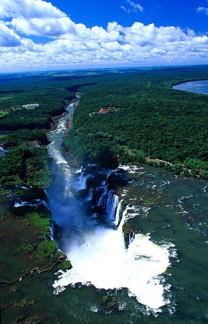 Bresil,  Chutes d'Iguazu