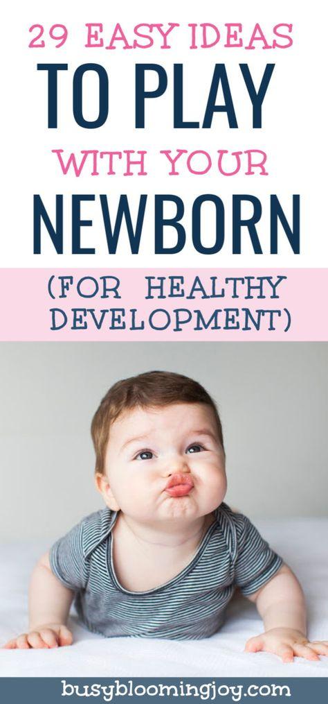 29+ Super simple tips to encourage healthy newborn development (sense-by-sense)