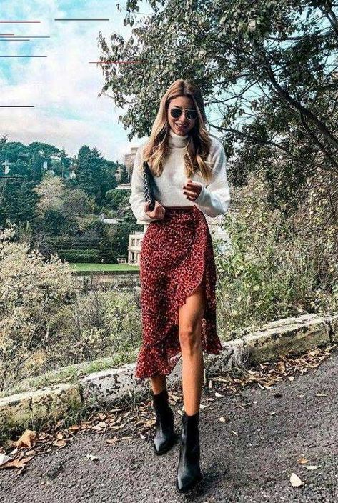midi skirt, best spring outfit 2020, knit jumper spring 2020, what to wear in spring, spring fashion 2020