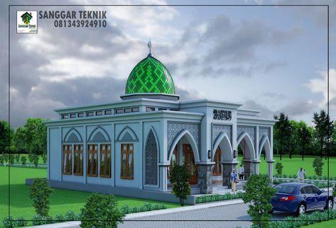 gambar desain masjid - rumah joglo limasan work