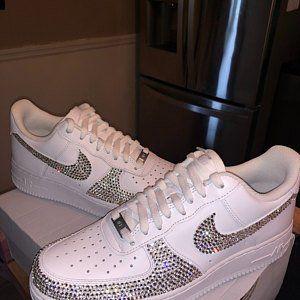 edadc8c28aee5 BLING Nike Air Max 270 With Swarovski Crystals Women's Custom ...