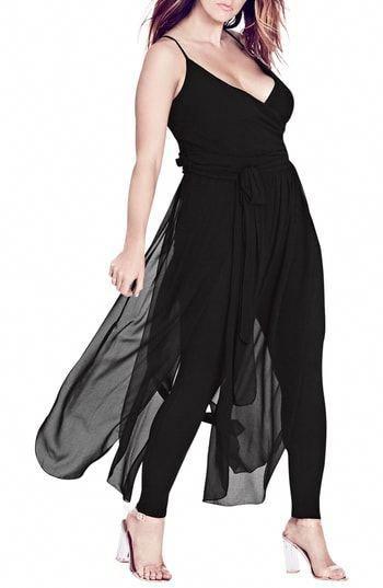 0625090d190 City Chic Jumpsuit Overlay  weddingcocktaildress
