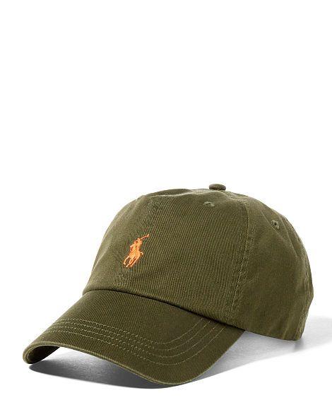 Cotton Twill Sports Cap - Polo Ralph Lauren Hats - RalphLauren.com ... 12c2f9a0e62b