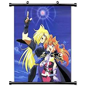 スレイヤーズ アニメファブリック壁スクロールポスター 16 x 21 インチ wp slayers 125 anime