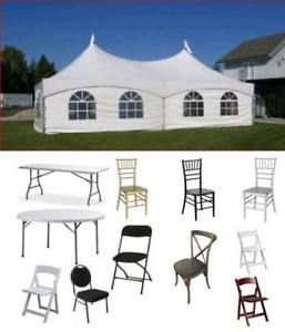 For Sale Event Tents Party Wedding Supplies Tables Chairs