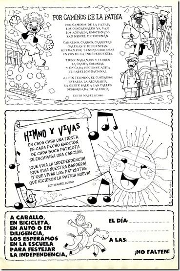 Resultado De Imagen Para 9 De Julio Dia De La Independencia Dibujo Dia De La Independencia Dia De La Independencia Actividades Escolares