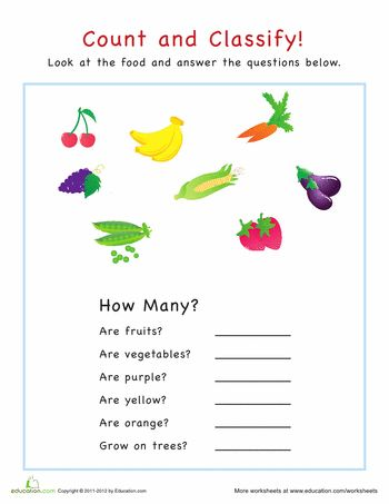 Count and Classify: Animals | Classifying animals, Worksheets and ...