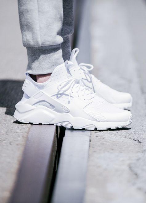 competitive price 31469 93c86 Nike Air Huarache Run Ultra Triple White (via Kicks-daily.com)