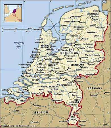 Netherlands History Flag Population Languages Map Facts Netherlands Map Geography Map Holland Map