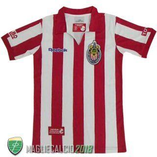 2007-2008 Comprare Home Maglia Chivas De Guadalajara Retro ...