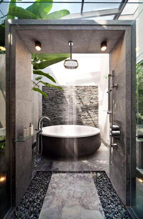 34 Outdoor Badezimmer Ideen 2020 In 2020 Badezimmer Duschdesigns