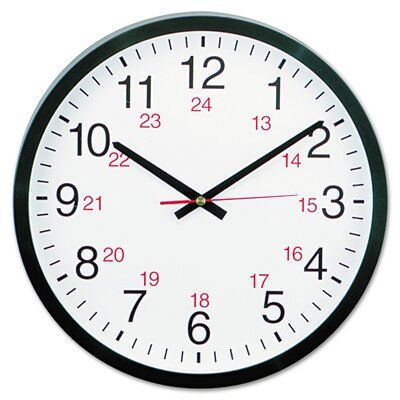 Universal Products 12 62 Wall Clock Wayfair In 2020 Round Wall Clocks Wall Clock Clock
